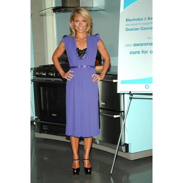 Shop Kelly Ripa Inside For Kelly Ripa Debuts New Electrolux Appliance Collection To Benefit Ovarian Cancer Research Fund The Glass Ho Overstock 24396766