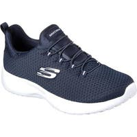 Skechers Women's Dynamight Slip-On Sneaker Navy