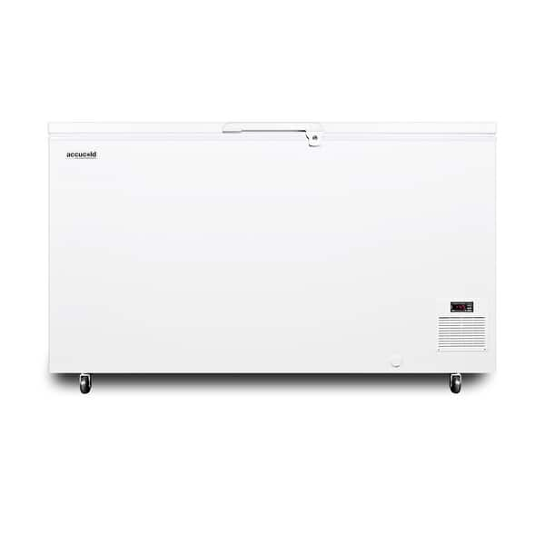 Shop Black Friday Deals On Summit El41lt Accucold 60 Wide 12 8 Cu Ft Capacity Chest Freezer White Overstock 30488607