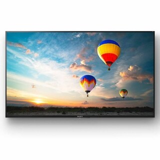 "Sony XBR-49X800E 49"" 4K Ultra HD LED Smart TV with Wi-Fi and Bluetooth (Black)"