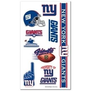 New York Giants Temporary Tattoos