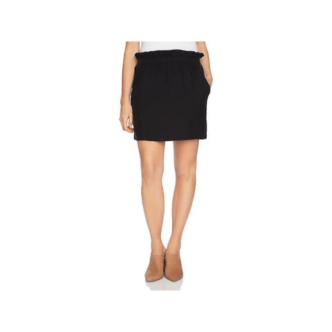 1.State Womens Mini Skirt Ruffled Mini