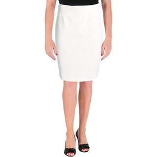 Calvin Klein Womens Straight Skirt Textured Pleaged (4 options available)