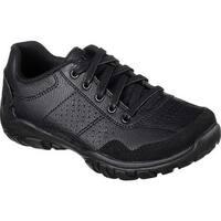 Skechers Boys' Relaxed Fit Grambler II Sneaker Black/Black