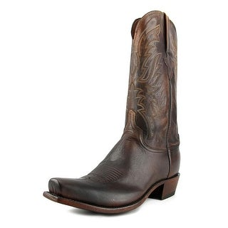 Lucchese N1662 Square Toe Leather Western Boot