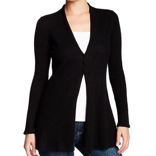 Griffen NEW Black Women's Size Medium M Cardigan Cashmere Sweater