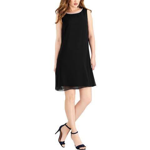 MSK Womens Party Dress Embellished T-Back