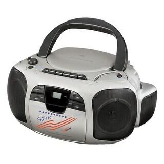 Califone 1776 Spirit Radio-CD-Cassette Player