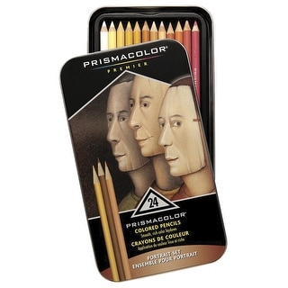 Prismacolor Colored Pencil, Assorted Colors, Pack of 24