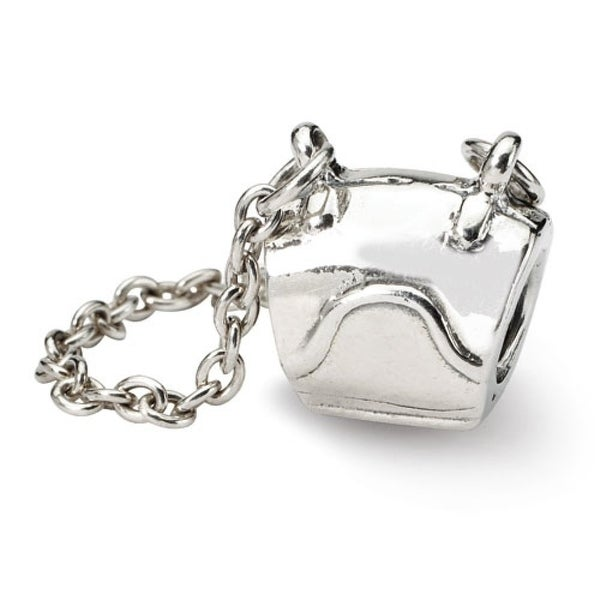 Sterling Silver Reflections Handbag Bead (4mm Diameter Hole)