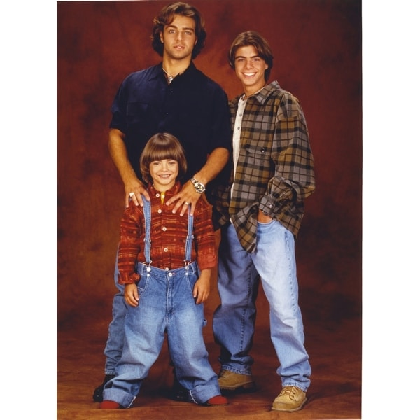 Brotherly Love Cast Men wearing Denim Jeans Photo Print