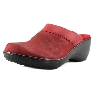 Softwalk Murietta Women Round Toe Leather Mules