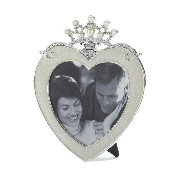 Indoor Crown Heart Picture Frame 5 X 5