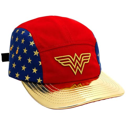 DC Comics Wonder Woman Classic 5-Panel Strapback Hat