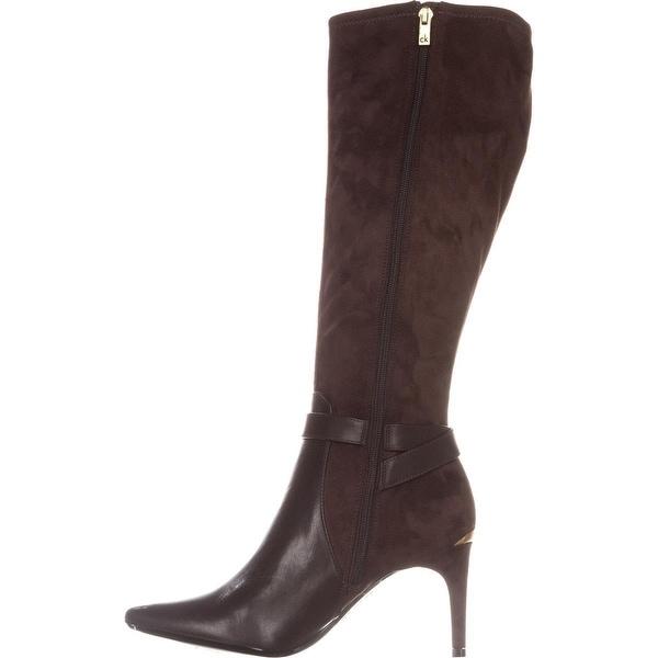 Dress Boots, Coffee Bean - Overstock