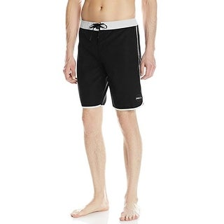 O'Neill Men's Santa Cruz Scallop 44 Black Boardshort Swim Trunks