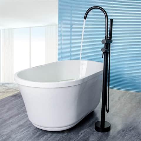 Copper Spray Floor Shower 2 Function