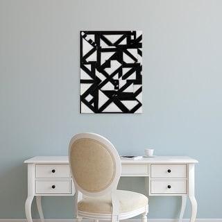 Easy Art Prints Rob Delamater's 'Topographic II' Premium Canvas Art