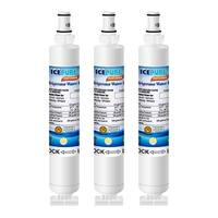 Icepure Replacement for Whirlpool Filter 6 Refrigerator Water Filter  (3 Pack)