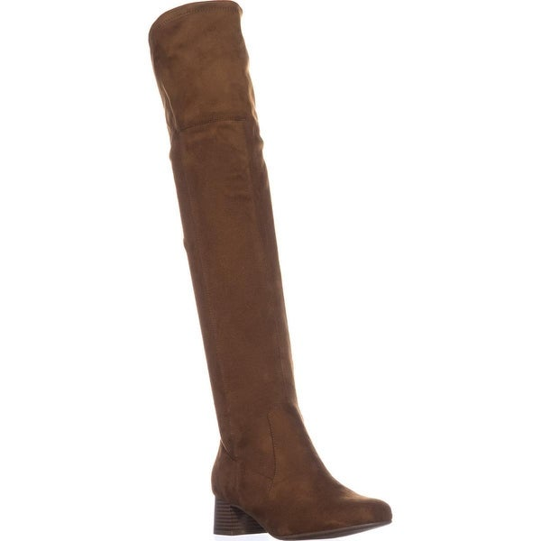 naturalizer Danton Tall Over-the-Knee Boots, Brandy Fabric - 8 w us