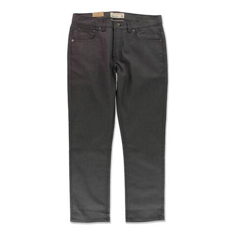 Ecko Unltd. Mens 711 Slim Fit Jeans, Grey, 28W x 30L