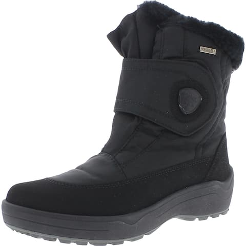 Pajar Womens Moscou 3.0 Winter Boots Faux Fur Cold Weather - Black Iron - 39 Medium (B,M)