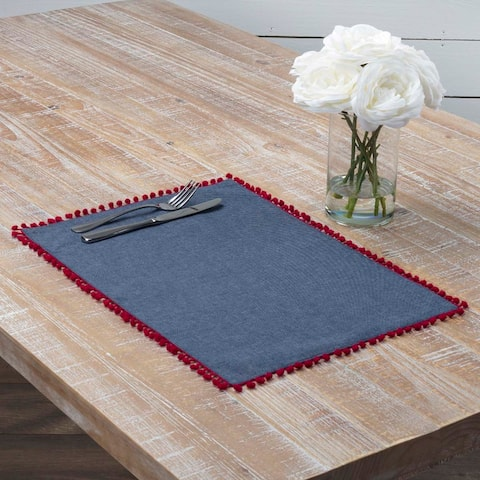 Indi Placemat Set of 6 12x18 - Placemat 12x18