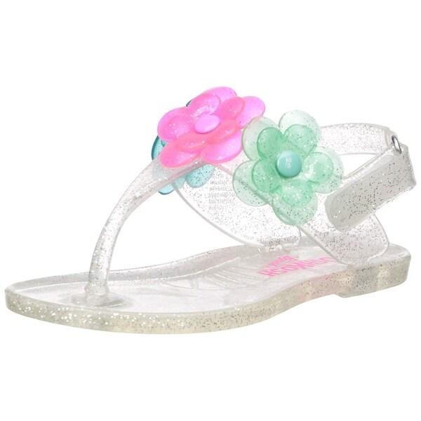 8b97cbe0f Shop OshKosh B Gosh Kids  Pectin Girl s Floral Jelly T-Strap Sandal ...