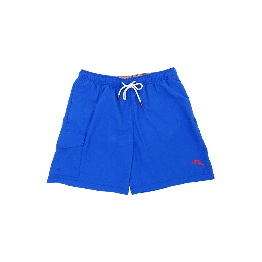 652a787918 Shop Tommy Bahama Men's Naples Coast Solid Swim Trunks - Free Shipping  Today - Overstock - 24076127