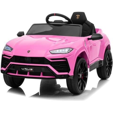 Kidzone 12V Licensed Lamborghini Urus Kid Ride On Car Electric Vehicle - standard
