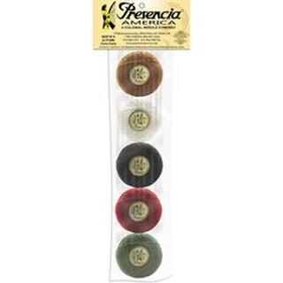 Presencia America Perle Cotton Balls Sampler 77yd-Bertie's Autumn 5/Pkg