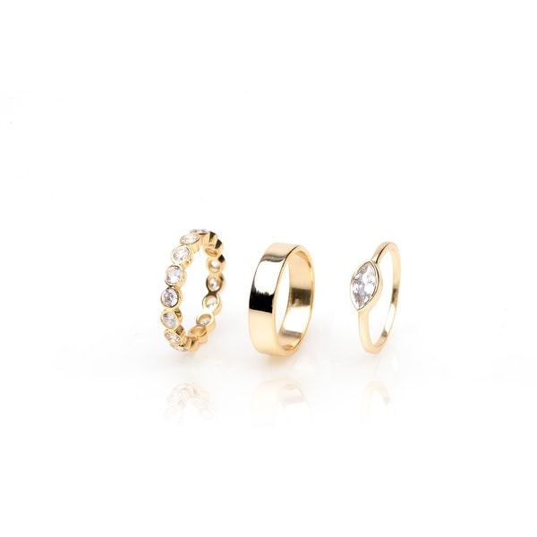 Frost Ring Set- Size 7