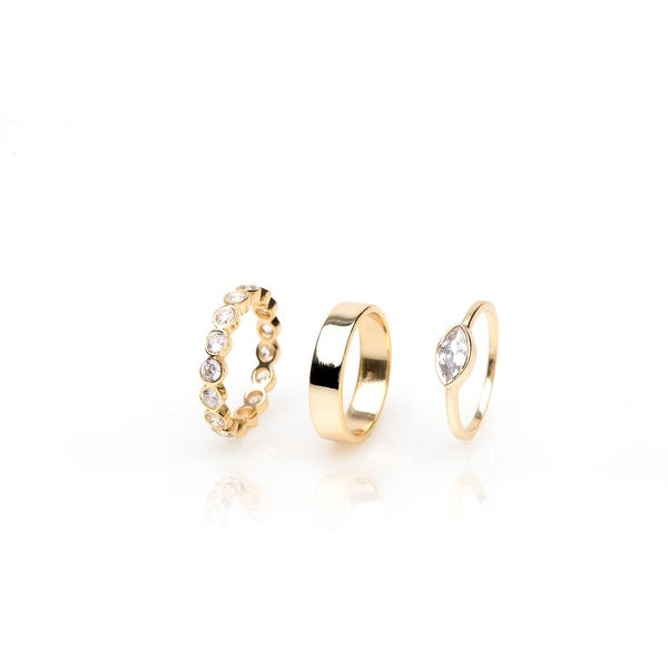 Frost Ring Set- Size 8