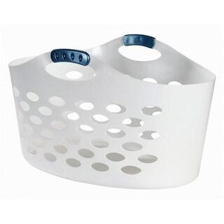 1.5 Bushel White Flex Basket - Pack of 6