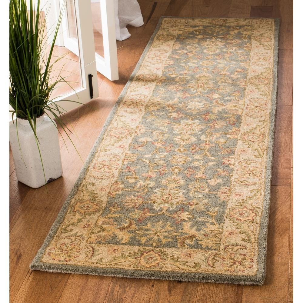 Safavieh-Handmade-Antiquity-Vena-Traditional-Oriental-Wool thumbnail 8