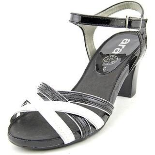 Ara Raphaela Women Open-Toe Patent Leather Slingback Heel