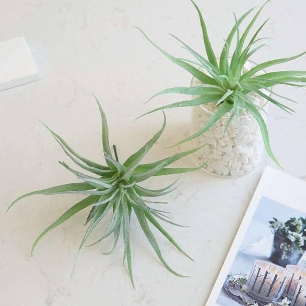 Shop Yokoke Artificial Pineapple Grass Air Plants Fake Flowers