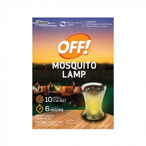 Off 76087 Mosquito Lamp with Mosquito Repellent Candle