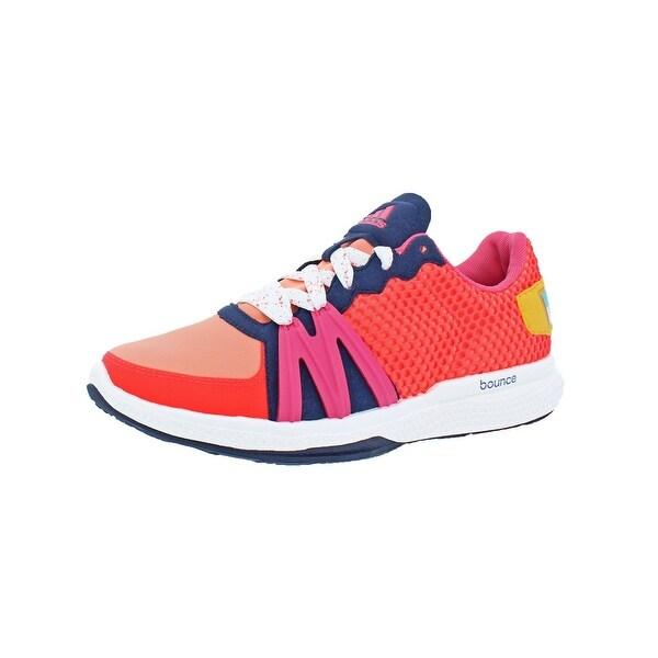 Adidas Womens Ively Running, Cross Training Shoes Non Marking Bounce - 6.5 medium (b,m)
