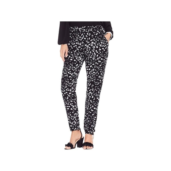 Shop Vince Camuto Womens Casual Pants Animal Print Pull On