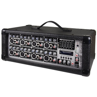 Studio-Z 8 Ch 800W Powered Mixer MP3 USB