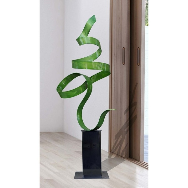 Statements2000 Large Metal Sculpture Modern Red Indoor Outdoor Decor Jon Allen