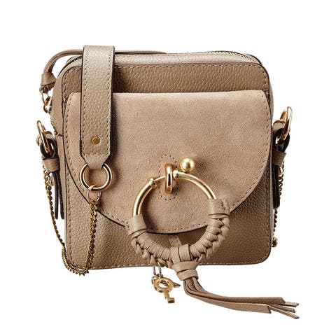 See By Chloe Joan Leather & Suede Camera Bag