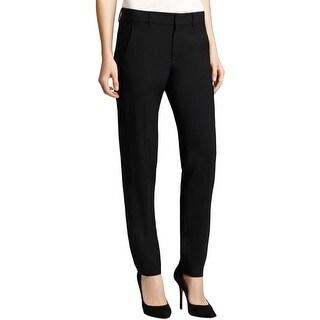 Vince Womens Dress Pants Wool Tuxedo Stripe