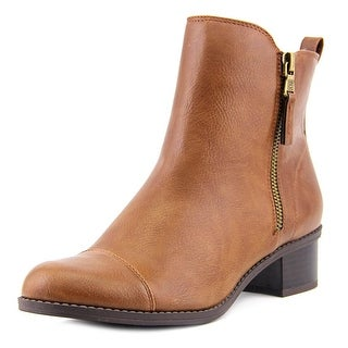 Chaps Page Round Toe Synthetic Ankle Boot