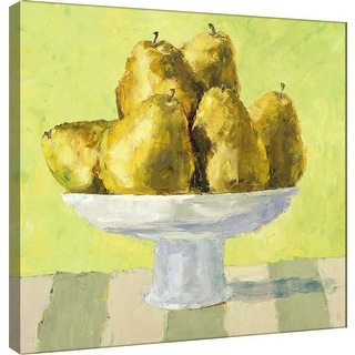 """PTM Images 9-99996  PTM Canvas Collection 12"""" x 12"""" - """"Fruit Bowl IV"""" Giclee Fruits & Vegetables Art Print on Canvas"""