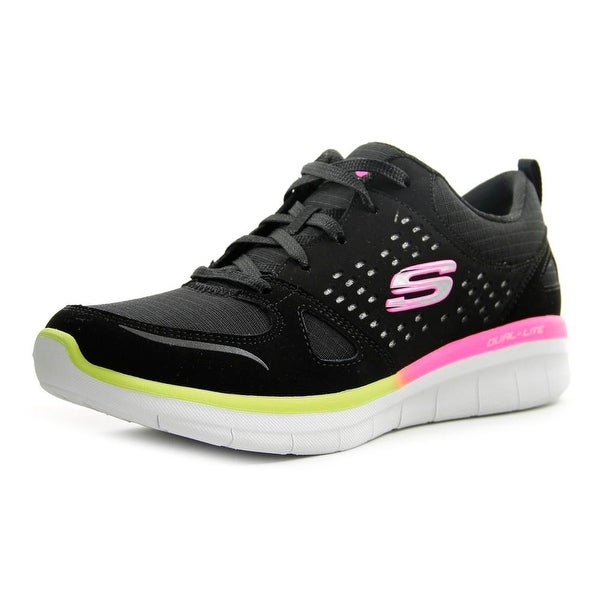 Skechers Synergy 2.0 ‑ Rising Star Women Synthetic Black Running Shoe