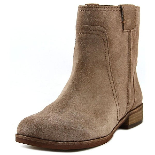 Vince Camuto Ruty Women Round Toe Suede Tan Ankle Boot