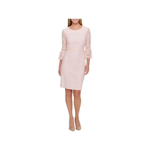 00ec7d4da8b Tommy Hilfiger Womens Special Occasion Dress Party Lace