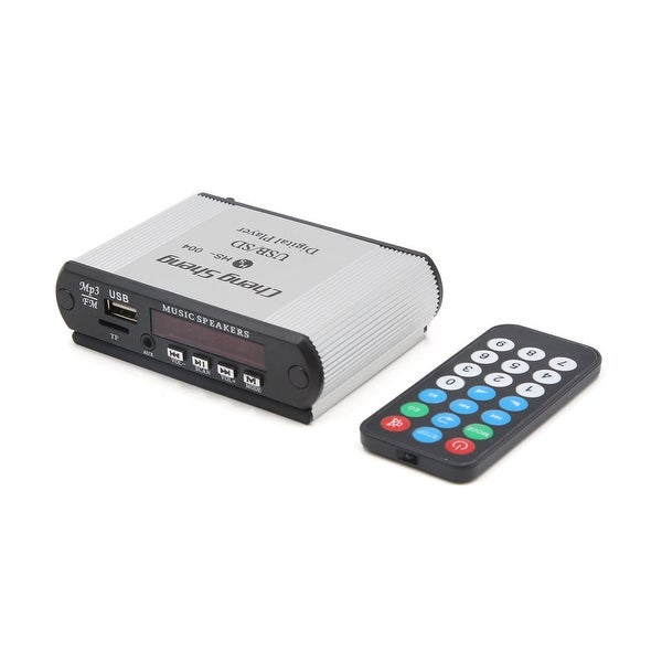 DC 12V Car Power Amplifier USB TF MP3 Audio Player Decoder w Remote Controller